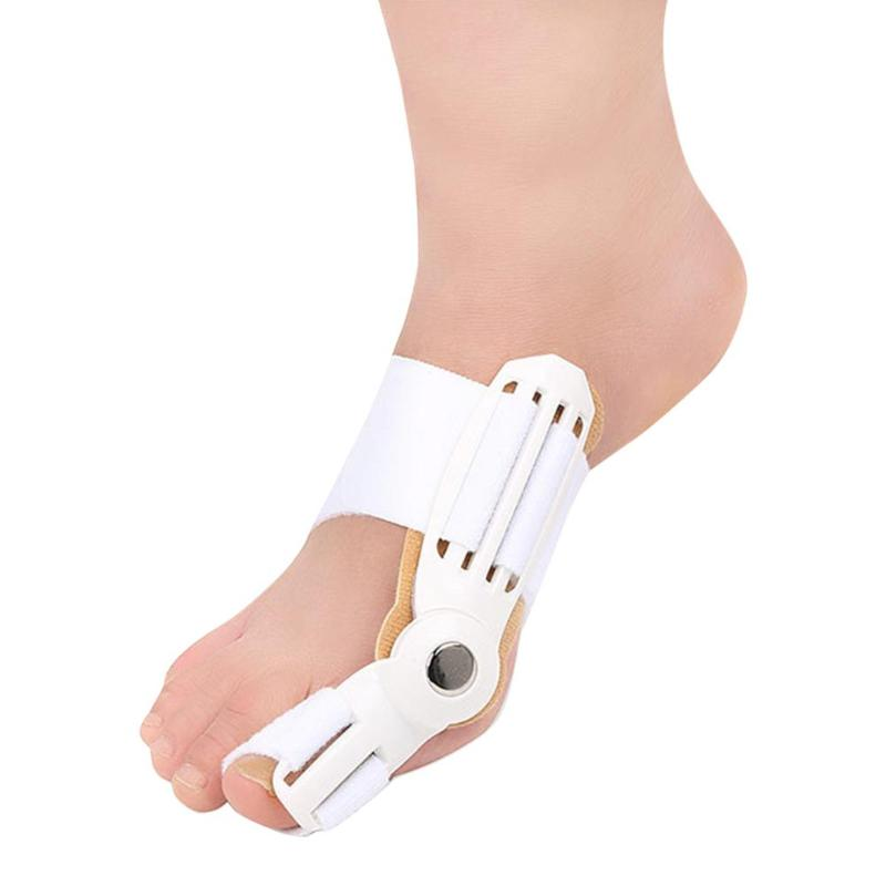 1Pcs New Hallux Valgus Orthopedic Bone Big Toe Separator Finger Pedicure Foot Care Tool Splint Correction Bicyclic Bunion Thumb