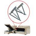 Mecanismo de elevación de cama Sofá cama de almacenamiento de metal ajustable bisagra con muelle D10-1