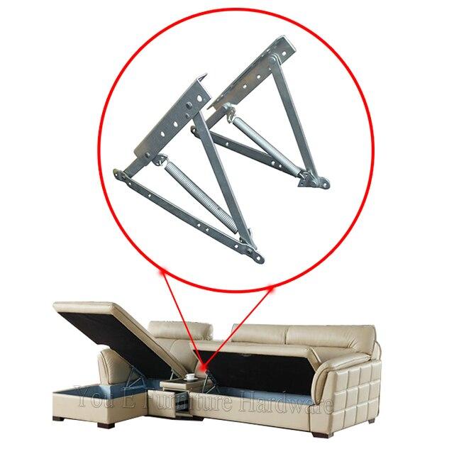Storage Lift Bed Mechanism : Adjustable metal sofa bed storage mechanism lift hinge