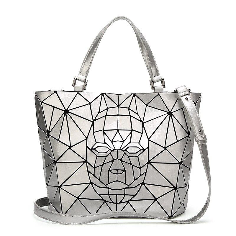 New Bao Bao bag For Women Robot Patter baobao Bag Diamond Tote Geometry Quilted Shoulder Bags Laser Plain Folding Handbags bolso
