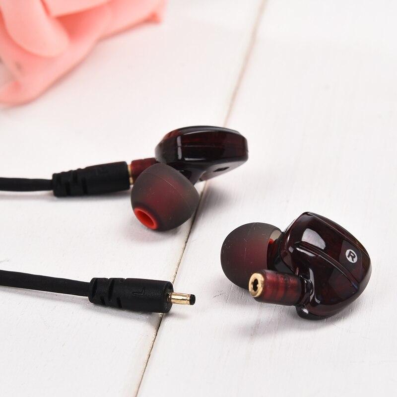 High Quality Earphone Wired Music Headphone Headset Detachable HiFi Earphones In-ear with MIC 3.5 MM Plug Golden