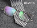 Винтаж оправы для очков титана очки очки онлайн бренд дизайнер очки кадр montures де lunette МУЖЧИНЫ