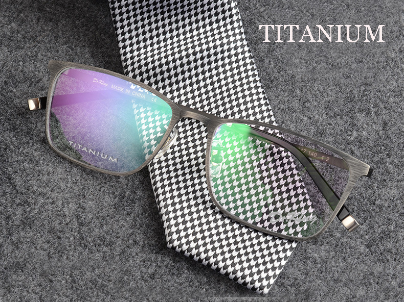 vintage spectacle frames titanium eyeglasses prescription glasses online brand designer eyeglasses frame montures de lunette men