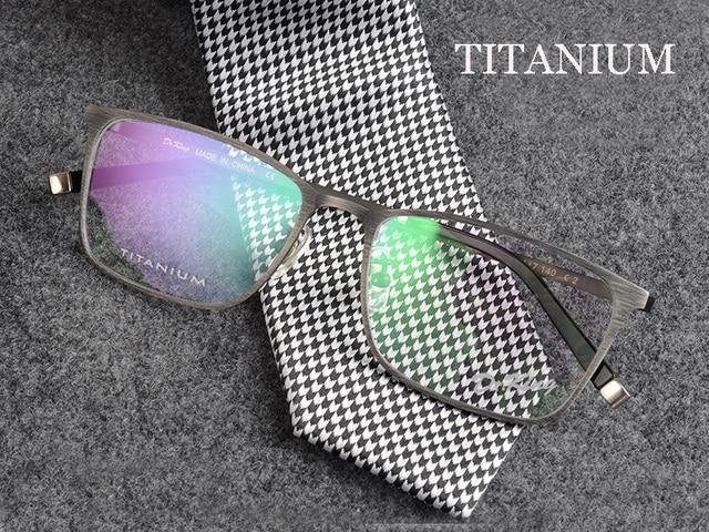529608735bf Vintage spectacle frames titanium eyeglasses prescription glasses online  brand designer eyeglasses frame montures de lunette MEN