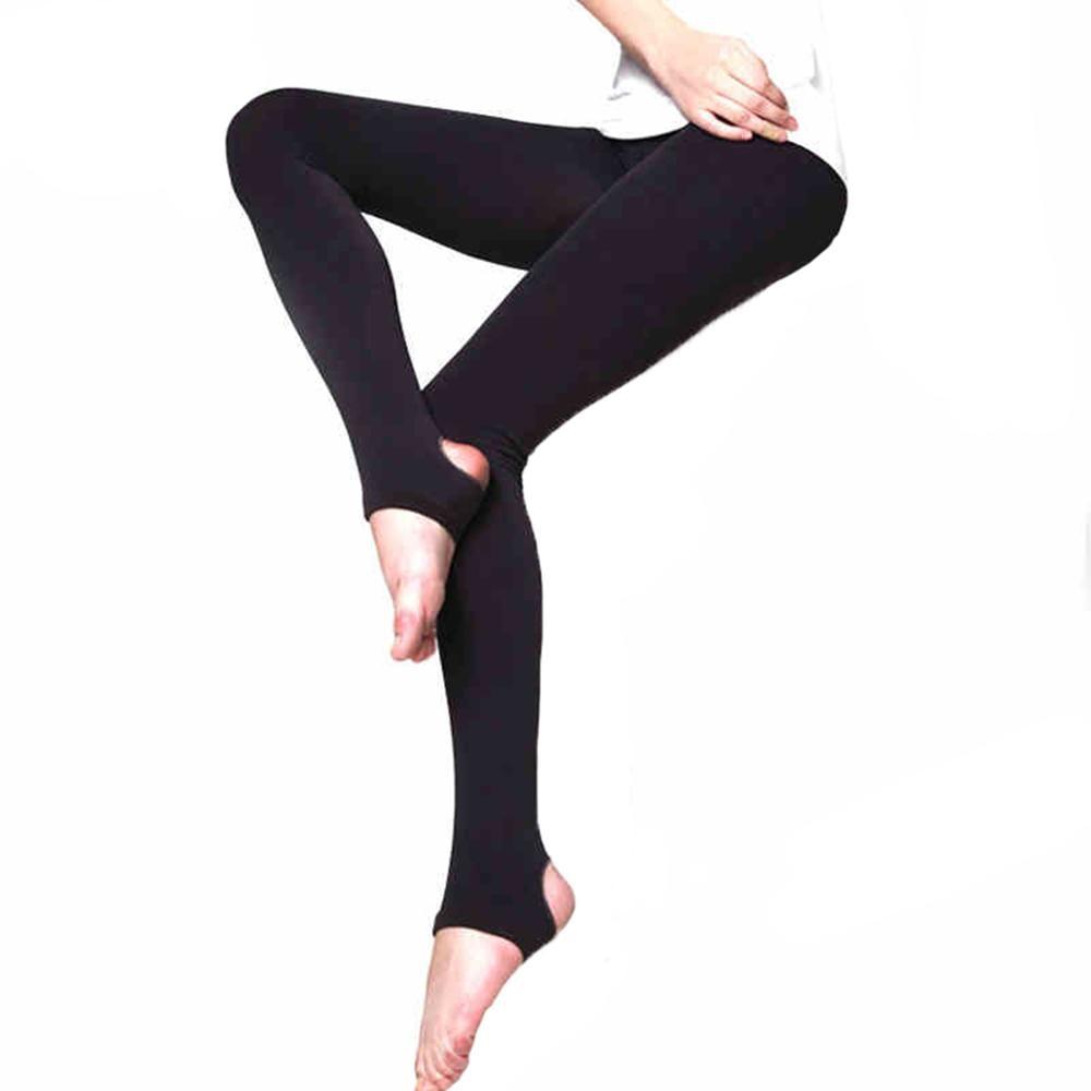 Сексуальные женские колготки, теплые бесшовные колготки 120D, бархатные эластичные колготки Strumpfhose Collant Femme Medias - Цвет: Черный