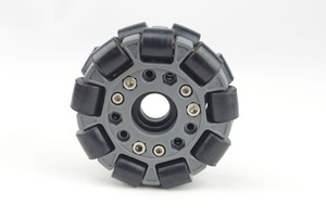Image 3 - 100mm Double Plastic omni Wheel basic 14049
