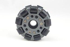 Image 3 - 100mm duplo plástico omni roda básica 14049