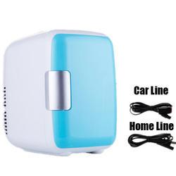 Двойное использование 4L домашнего использования автомобиля холодильники Ультра тихий низкий уровень шума автомобиля мини-Холодильники