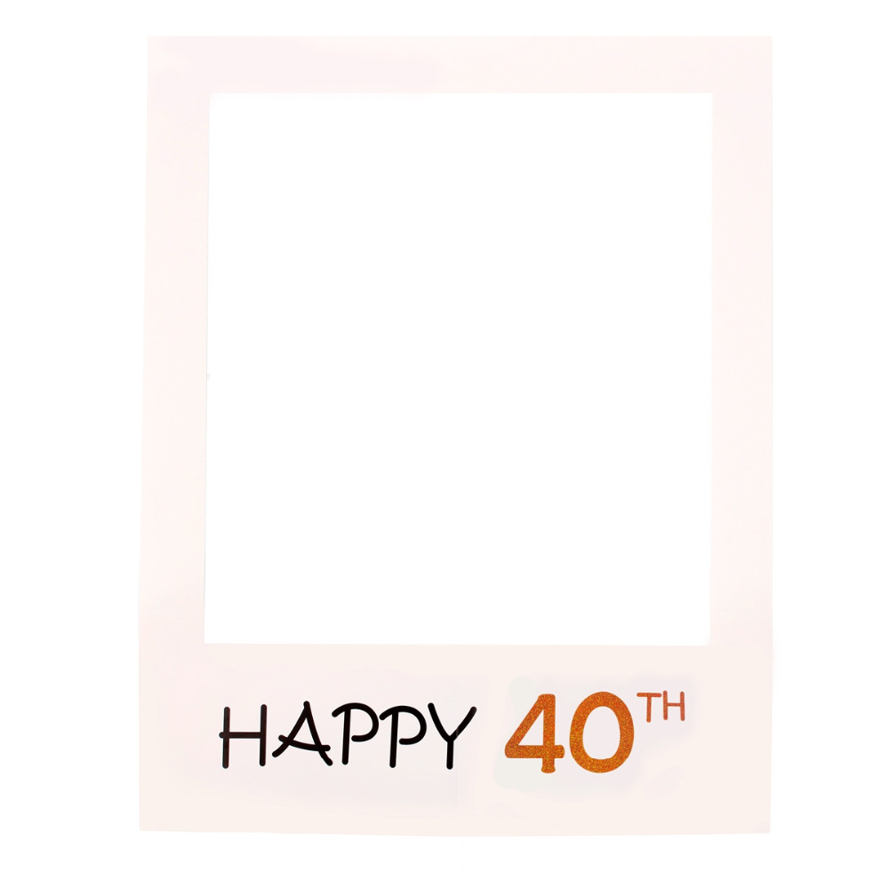 FENGRISE Happy Birthday 30th 40th Photo Booth Props 30 40 50 jahre ...