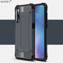 For Cover Xiaomi Mi 9 Case Anti-knock Rugged Armor Hard Silicone Rubber Phone Bumper