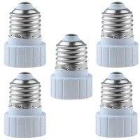 Conversor suporte da lâmpada  e27 para gu10 led luz base adaptador conversor plugue extensor