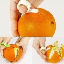 1 шт. Кухня Гаджеты Кулинария Инструменты Orange Овощечистка Парер Finger Тип Open Orange Peel Orange Устройства(China (Mainland))