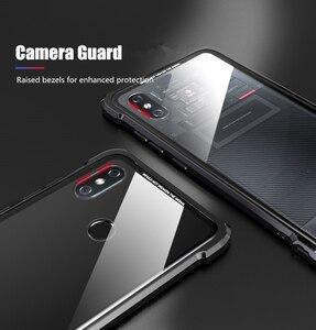 Image 5 - OMEVE For Xiaomi Mi 8 Case Mi8 Pro Case Tempered Glass Back Cover Alloy Metal Frame Bumper for Xiaomi Mi 9 8 9T Pro Mi9 Cases