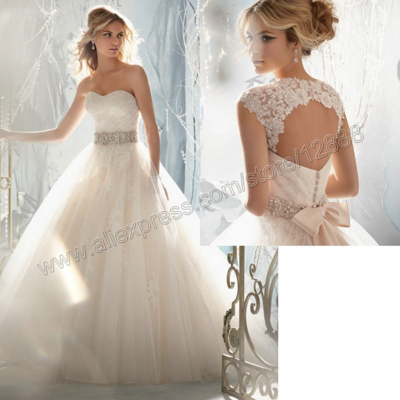 Style 1959 Removable Cap Sleeve Ball Gown Bridal Dress Bodice ...