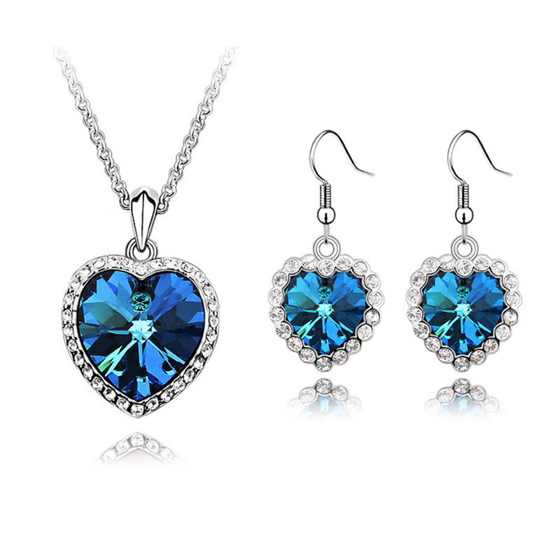 Buy Women Party Jewelry Sets Made With Swarovski Element