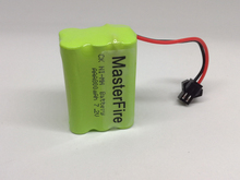 MasterFire 6PACK/LOT New Original Ni-MH AAA 7.2V 800mAh Batteries Rechargeable Battery Pack With Plugs