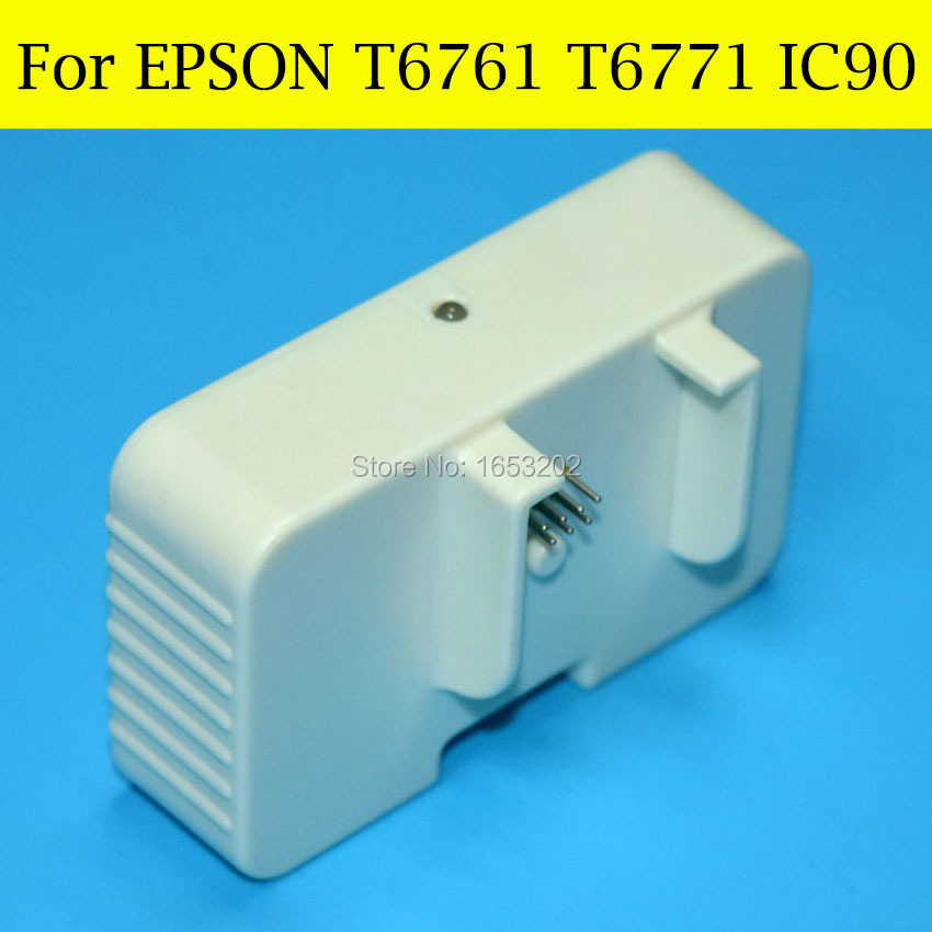 1 Piece Chip Resetter For Epson T676XL T6761 T676 For EPSON WorkForce Pro WP-4010/WP-4020/WP-4023/WP-4090 Printer t6761 t6764 auto reset chip for for epson workforce pro wp 4010 wp 4023 wp 4090 4520 4533 wp 4590 wp4530 wp4540 676 xl 676xl