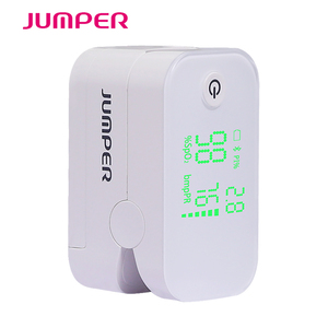 Image 4 - Wireless Bluetooth Finger Pulse Oximeter HD LED Display Fingertip Pulsioximetro android iSO Phone APP Oximetro de pulso de dedo