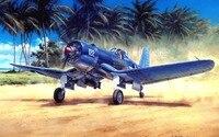 Buona qualità # TOP Decor Aviazione Militare ART Seconda Guerra Mondiale aereo stampa artistica pittura su tela --- trasporto libero costo