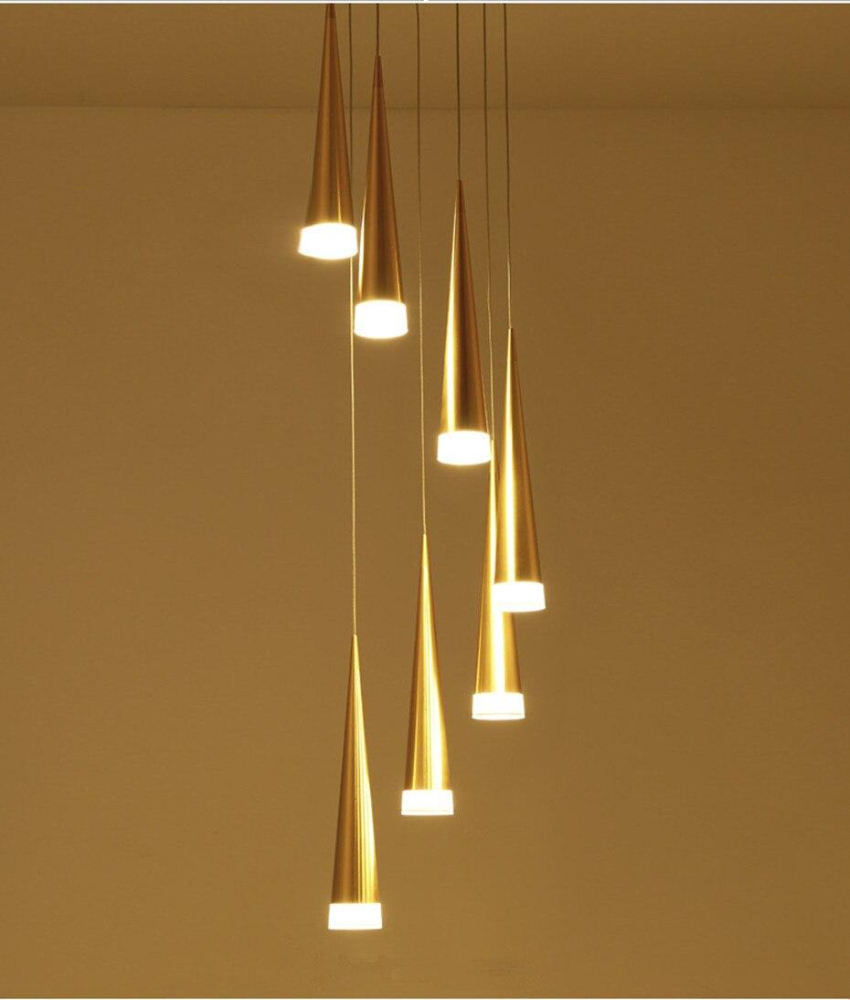 barra decoração cilindro tubo pingente luzes