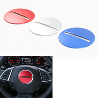 Sosung 3 Colors Auto Car Steering Wheel Decoration Sticker Styling Sequins Car Covers Trim For Chevrolet
