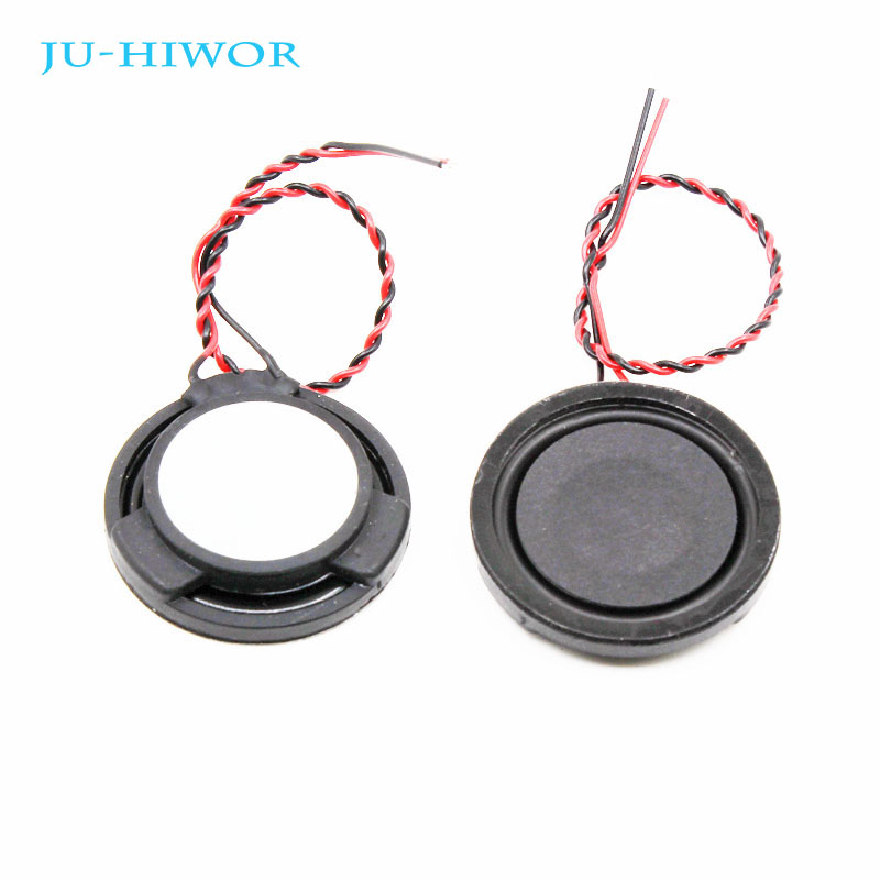 10pcs 4R 3W 30MM Round Speaker Thickness 5.8MM Complex Film Bass Loudspeaker For High-end Toys E-book