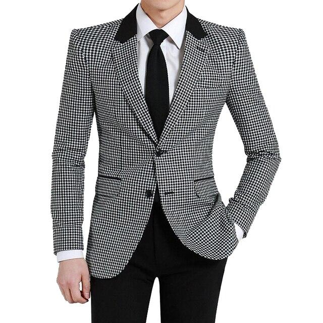 2019 Nuovo Pied De Poule Giacche 95% dacron signore di stile custom made  abiti da dc2ff4308ad