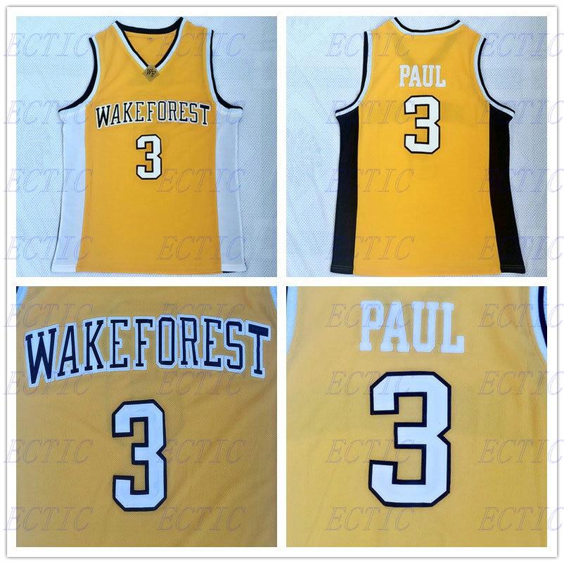 online store 4f974 8570d new arrivals chris paul wake forest jersey black 7aa16 0d16b