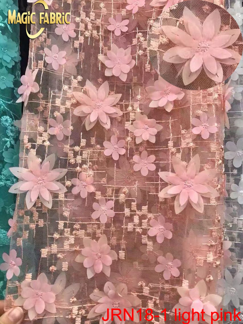 French tulle lace fabric 2017 latest flowery design tulle for Wedding dress fabric stores