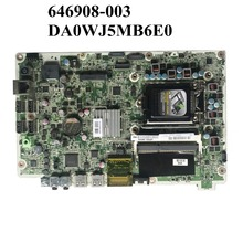 S1155 665465-001 DA0WJ5MB6E0 for HP 120-1024LA AIO H61/S1155/646908-003/.. Excellent