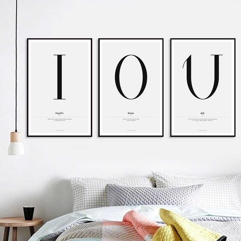 minimalist abc alphabet black