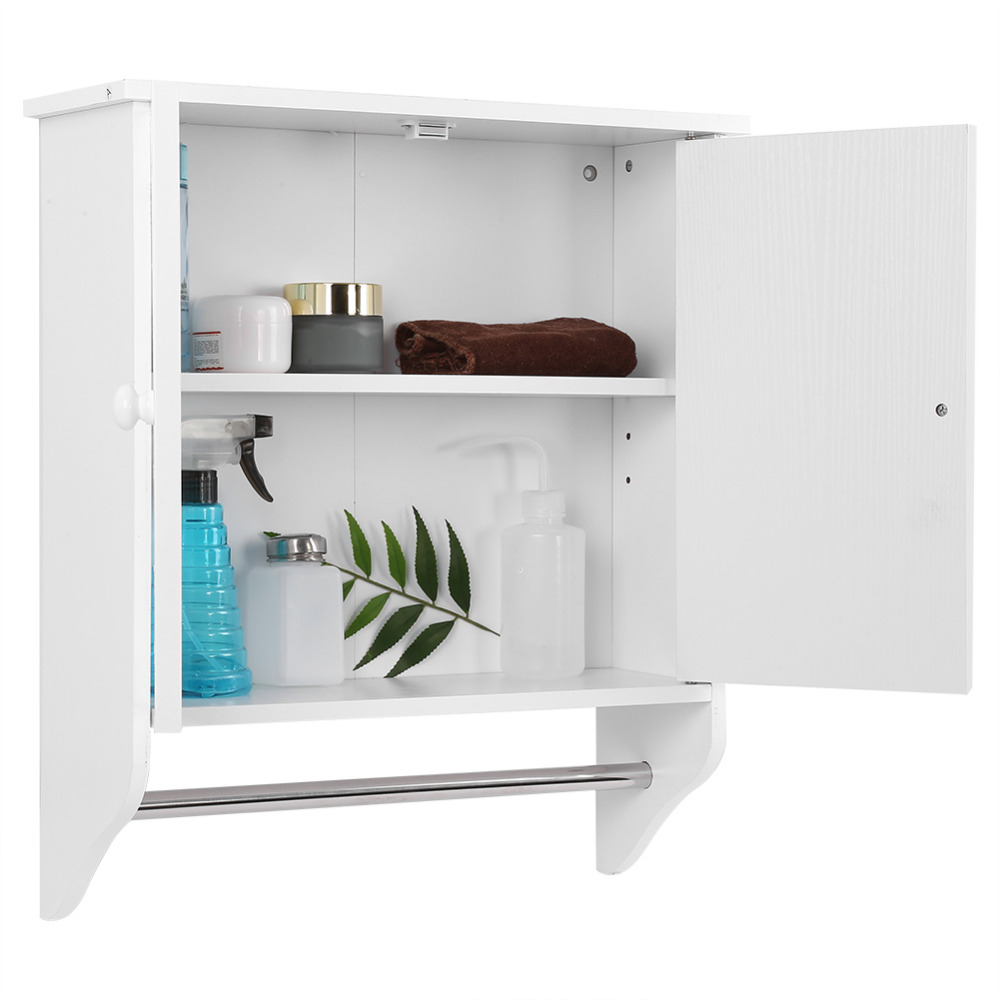 820fdb04b97e US $23.69 33% OFF|Wall Mount Wooden Organizer Towels Clothes Storage  Cabinet Bathroom Kitchen Laundry Cabinet With Shelf on Aliexpress.com |  Alibaba ...