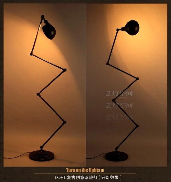 RH loft floorlamp mechanical arm france Jielde floor lamp reminisced ...