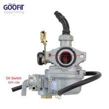 GOOFIT 19mm Cable choke Carburetor CARB 50 90 110 125cc ATV Roketa TAOTAO NST Chines N090-068-2