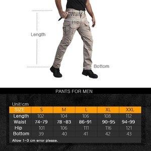 Image 5 - Pantalones tácticos elásticos de camuflaje para hombre, pantalones a cuadros impermeables, resistentes al desgaste, transpirables, pantalón militar para exteriores