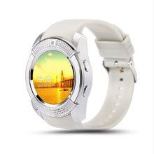 100% original novo smart watch bluetooth esporte relógio de pulso com mtk6261d smart watch suporte do cartão sim para ios android phone relógio
