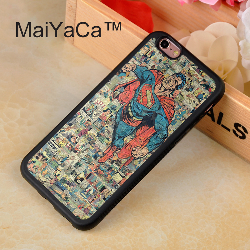329_C875_H1881_Superman Retro Collectionift Black Hard Skin mobile phone Cases Cover housing For iPhone 4S 5S 5C 6 6Plus Free shipping