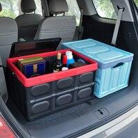 30L Car trunk storage box debris Organizer bag in the trunk car debris storage box car storage supplies multi function strong
