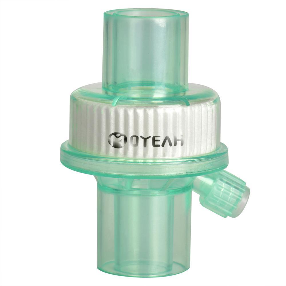 Jednorazowy filtr kierunku przepływu powietrza filtr wentylatora filtr medyczny sztuczny filtr nosa oddychanie znieczulenie maszyna CPAP