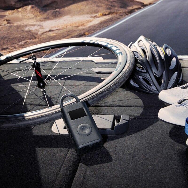 Xiaomi Mijia Portable Smart Digital Tire Pressure Detection Electric Inflator Pump for Bike Motorcycle Car Football , In stock 1