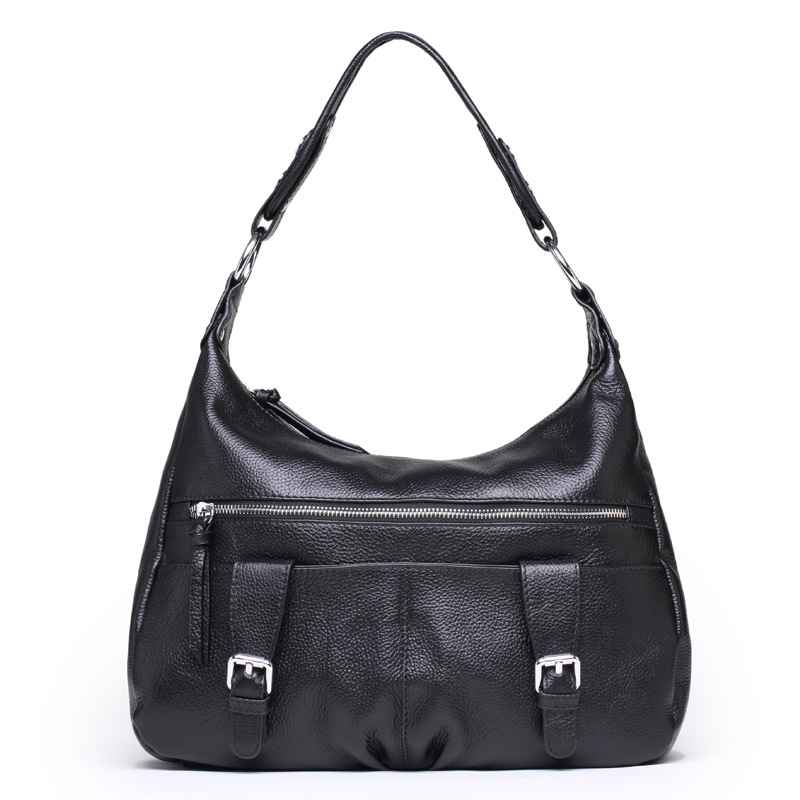 Famous Brand Natural Genuine Leather Bags Women Handbag Real Leather Tote Bag The First Layer Cowhide Shoulder Messenger Bags