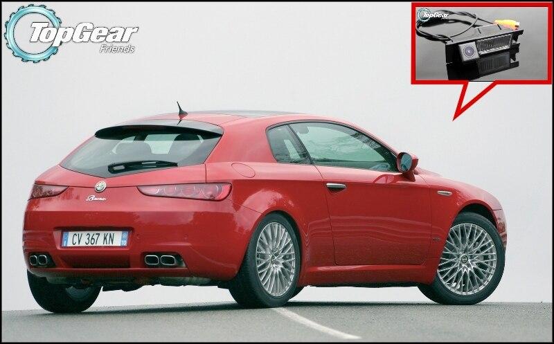 Caméra de voiture pour Alfa Romeo Brera / Spider   Caméra arrière de qualité supérieure, caméra de recul, pour amis Top Gear, utilisation CCD avec RCA