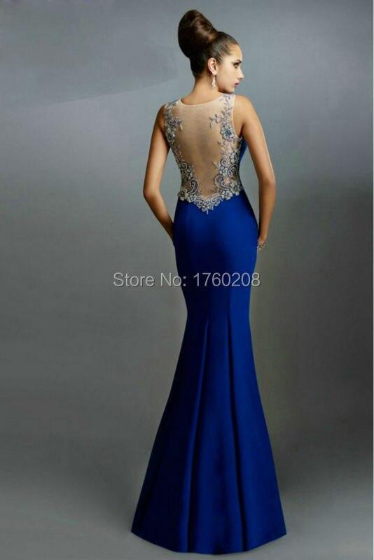 Vestidos de fiesta largos color azul