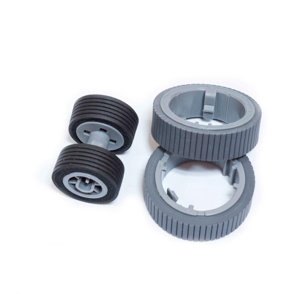 Wholesale New Scanner Pick Roller+Brake Roller Set for Fujitsu Fi-7160 7180 7260 PA03670-0001 PA03670-0002