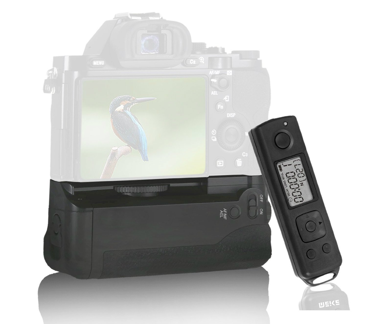 Meike MK-AR7 Built-in 2.4g Wireless Control Battery Grip for Sony A7 A7r A7s цена