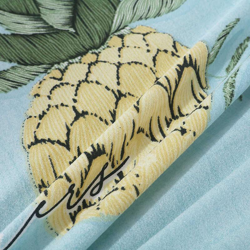 新鮮なスタイルパイナップルユニバーサルストレッチソファ Slipcovers ソファ/コーナーソファカバーユニバーサルストレッチ緑の葉家具カバー