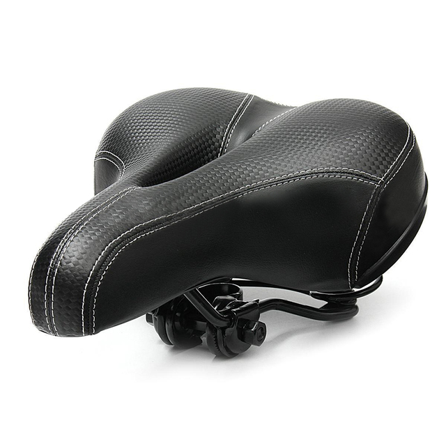 Bicycle Cycling Big Bum Saddle Seat Road MTB Bike Wide Soft Pad Comfort Cushion