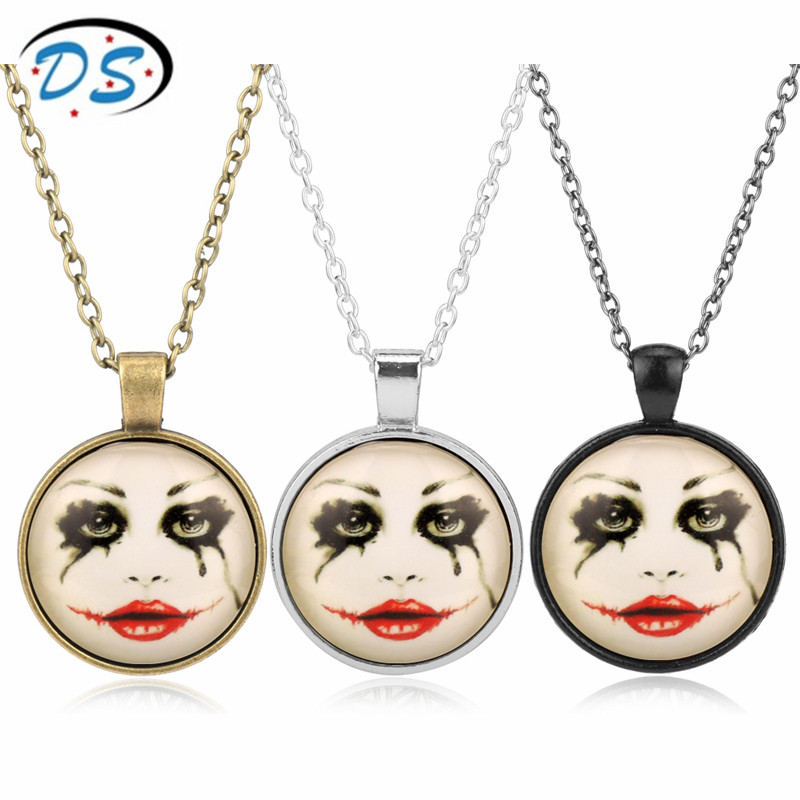 Suicide Squad Necklace Harley Quinn Personality Link Chain Choker Necklace for Women Girls Christmas Gift