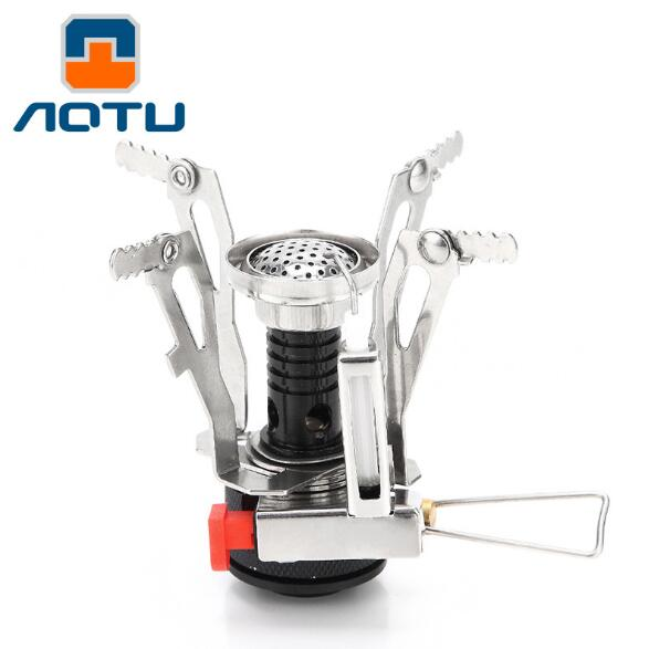 Outdoor Camping Stove Head One Portable Ultra Light Alloy Gas StoveAL