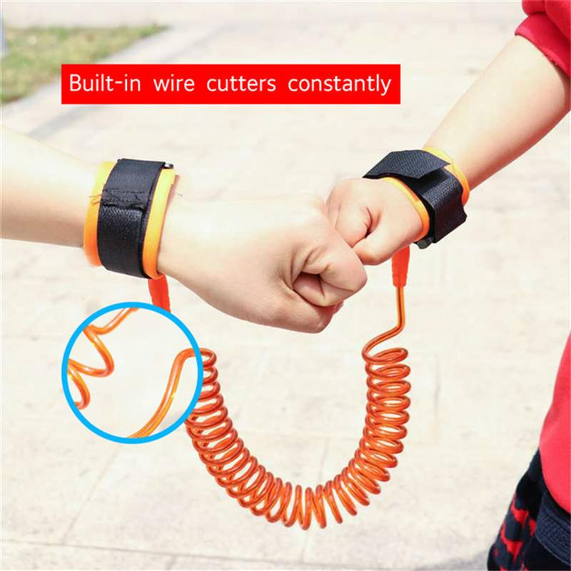 Toddler Kids Baby Safety Walking Harness Anti-lost Strap Wrist Leash Children Hand Belt Rope 2019 New Fashion Length 1.5M